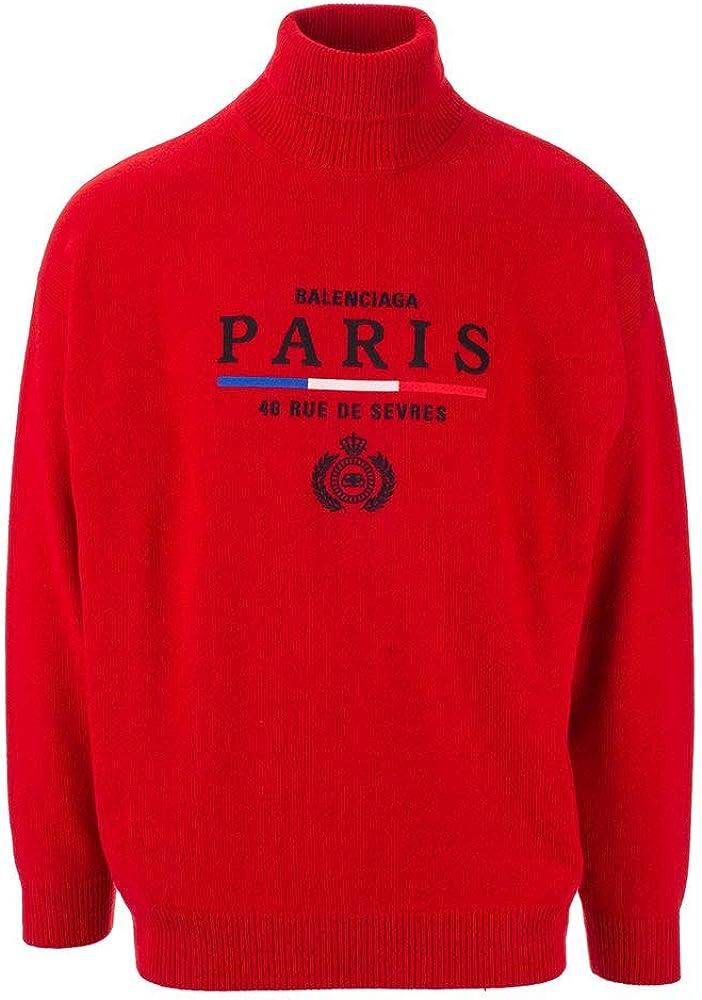 Balenciaga luxury fashion,maglione per uomo,in puro cashmere 100% 594737T40986400