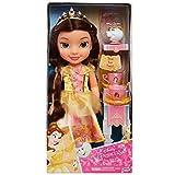 Jakks Pacific Disney Princesa Bella 35 cm y Mrs. Potts con Set de Té para Dos Tea Time