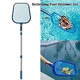 WESYY Schwimmbad Skimmer Netz,Pool Leaf Skimmer,kescher Leaf Skimmer Net,Pool Kescher,für Brunnen,...