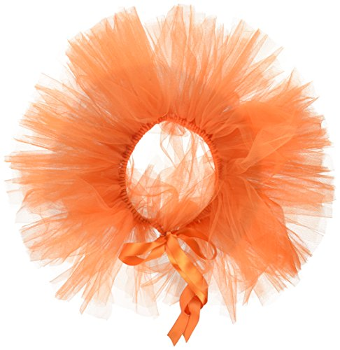 Handcrafted in USA Orange Tulle Tutu for Extra Large Dogs