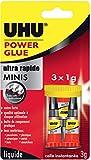 UHU Power Glue, colle forte instantanée, Colle Liquide, avec une...