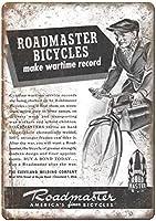 自転車クリーブランド溶接Coヴィンテージティンサイン装飾ヴィンテージ壁金属プラークレトロアイアン絵画カフェバー映画ギフト結婚式誕生日警告