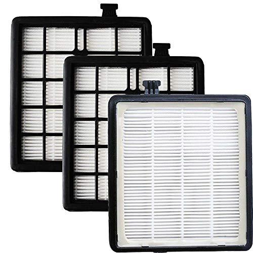 Eagles Paquete de 3 filtros HEPA de repuesto compatibles con aspiradoras Dirt Devil F45 Style EZ...