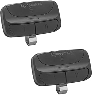 Ezyopenteck Universal Garage Door Opener Remote, Replacement for Chamberlain Liftmaster Genie Linear 371LM 373LM 375LM 375UT 971LM 973LM 893MAX KLIK1U - 2 Pack