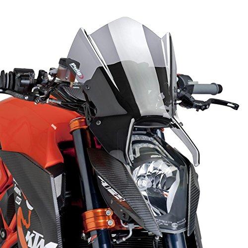 Windschild Puig für KTM 1290 Super Duke/R 14-16 rauchgrau