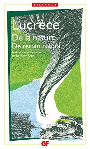 De la nature (De rerum natura): Re rerum natura