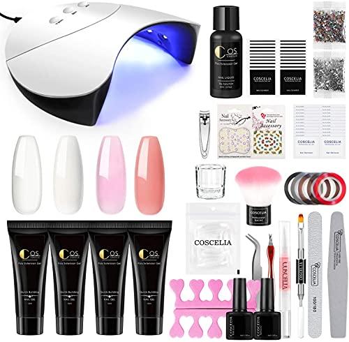 Kit Poly UV Gel Extension