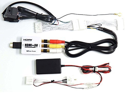 Beat-Sonic IF-02AEP Smartphone Mirroring Kit for Toyota and Select Lexus Without NAV (See Details for Compatibility)