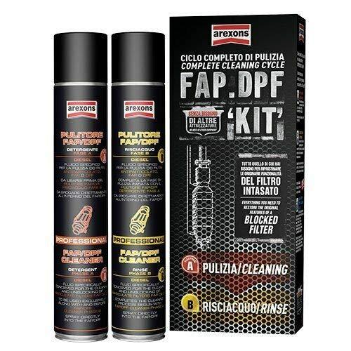 Kit pulizia & manutenzione FAP / DPF Arexons (senza additivo...