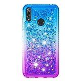 Huawei Y7 2019 Case, Bling Diamond 3D Glitter Sparkle