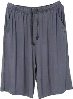 GAGA Mens Sleep Shorts Pajama Shorts Knit Sleepwear Lounge Shorts