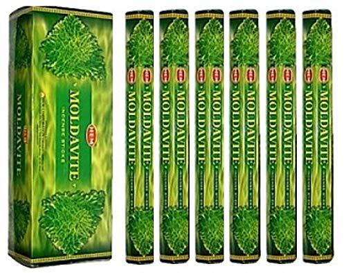 HEM Moldavite 120 Incense Sticks (6 x 20 stick packs)