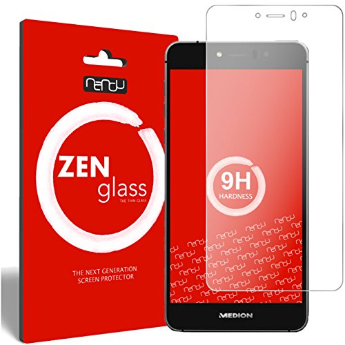 ZenGlass Flexible Glas-Folie kompatibel mit Medion Life X5020 Panzerfolie I Bildschirm-Schutzfolie 9H