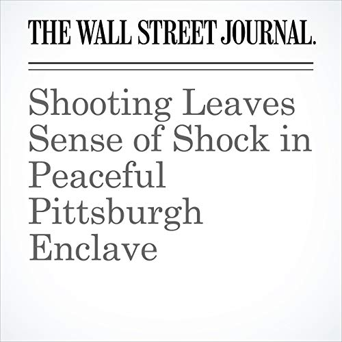 Shooting Leaves Sense of Shock in Peaceful Pittsburgh Enclave copertina
