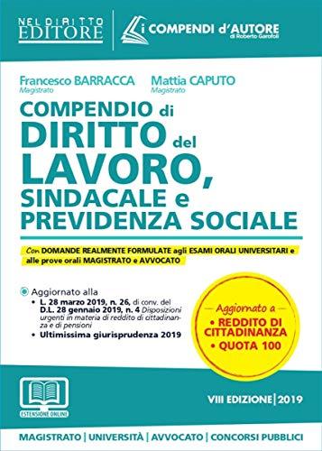 Compendio di diritto del lavoro, sindacale e della previdenza sociale. Con espansione online