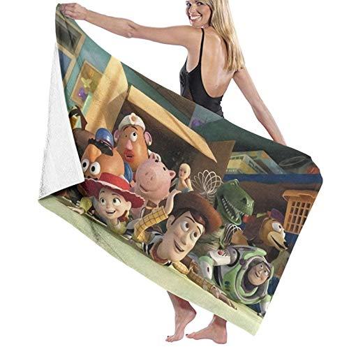 Toallas de playa decorativas de Toy-Story para baño, hotel, gimnasio y spa