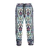 Pantalones deportivos para hombre Tulipanes Margaritas Cómodo Cool Pantalones de chándal sueltos con cordón