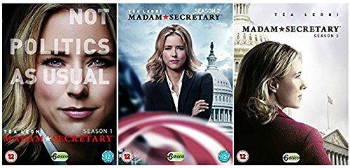 Madam Secretary Complete Season 1 - 3 DVD Collection + Bonus Features + Deleted Scenes