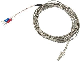 X-DREE 0-400C 6mm Thread 3 Meter Thermocouple Temperature Sensor(Sensore di temperatura termocoppia da 0 a 400 ° C da 6 mm