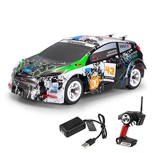 NBRTT Coche de Control Remoto de Alta Velocidad, vehículo Todoterreno de Alta Velocidad con relación 1:28, Mini Coche de Carreras de Juguete eléctrico, Adecuado para niños