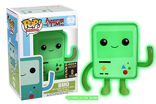 Funko Adventure Time- BMO Glow-in-The-Dark POP!