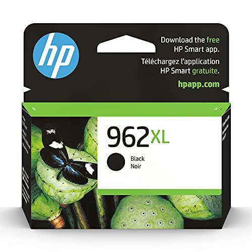 Original HP 962XL Black High-yield Ink Cartridge | Works with HP...
