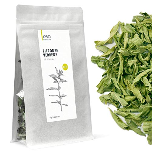 Zitronenverbene (Verveine Tee), BIO-Kräutertee, 40g Beutel