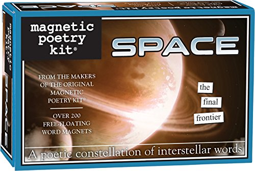 Magnetic Poetry - Space Kit - Words for Refrigerator - Write Poems and Letters on The Fridge - Made in The USA