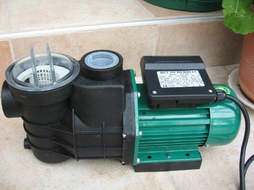 Leis 750 Wasserpumpe Poolpumpe 13,2 m³ selbstansaugend Filterpumpe Schwimmbadpumpe Pumpe Pool Schwimmbad