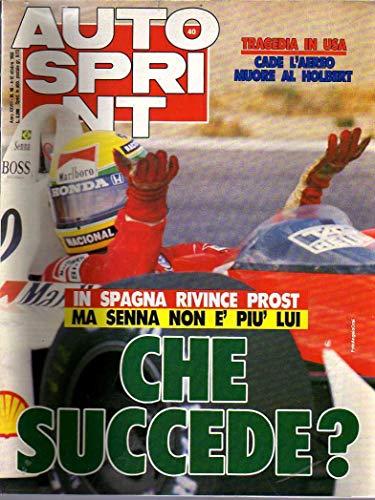 Autosprint n. 40 del Ottobre 1988 Senna, Foitek, Al Horbert, Inserto
