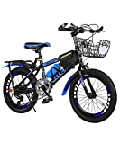 N-A 18/20/22 Inch Kids Bicycle Mountain Bike for 6-15 Years Children Teens, Portable Outdoor Mountain MTB Bicycle with...