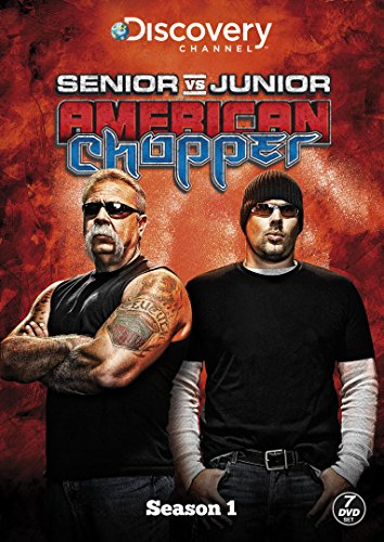 American Chopper: Senior Vs Junior [DVD] [UK Import]