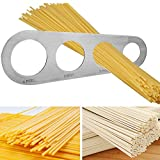 iTimo 1 cuchillo para espaguetis de acero inoxidable con 4 agujeros, herramienta de medici...