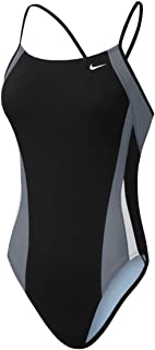 nike cut-out swimsuit in black