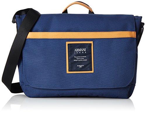 Armani Jeans Bolso Bandolera para Hombre 9321217p914, 9 x 27 x 36 cm, Azul Marino 06935, 9x27x36 cm (B x H x T)