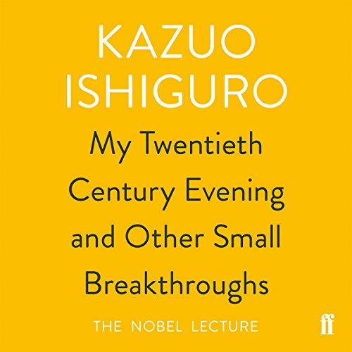 My Twentieth Century Evening and Other Small Breakthroughs cover art