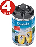4 x Krombacher Pils barriles frescas, 5 litros de 4,8% vol