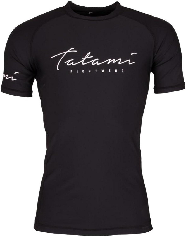 Tatami Rashguard Rashguard Rashguard Script - Rash Guard BJJ MMA Grappling Kompression Funktions Shirt Top Herren B07DRHN275  Billiger als der Preis 57ac4c