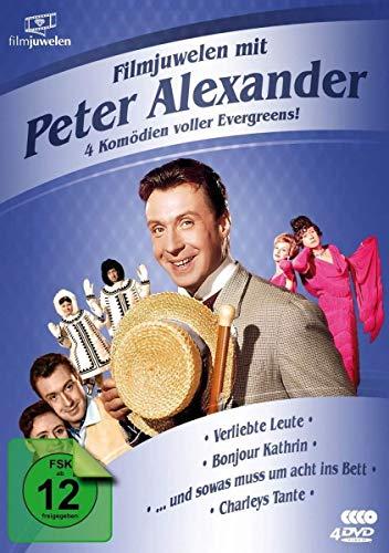 Filmjuwelen mit Peter Alexander: 4 Komödien voller Evergreens! [4 DVDs]