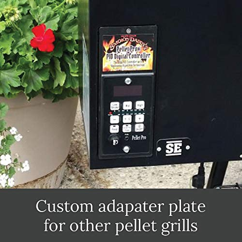 Smoke Daddy PID Pellet Grill Controller | Compatible with Other Pellet Grill Brands