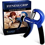 SportMonster Fitness Master Hand Grip Strengthener with Adjustable Resistance from 20 to 90 lbs