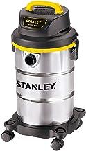 مكنسة كهربائية من ستانلي رطب / جاف، 4.5 جالون، قوة 4 حصان، خزان ستانلس ستيل