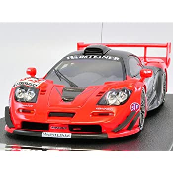 MMP 44672 EBBRO//HPI 1//43 McLaren F1 GTR Yellow Corn JGTC N.Hattori Y.Hitotsuyama