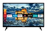 Telefunken XF32J511 32 Zoll Fernseher (Smart TV inkl. Prime Video / Netflix / YouTube, Full HD, Works with Alexa, Triple-Tuner) [Modelljahr 2021]