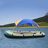 SOBW Tienda de campaña plegable para barcos hinchables, techo de barcos hinchables, tienda de barco para 2/3/4 personas, toldo de sol para botes, protección solar, barco hinchable, impermeable