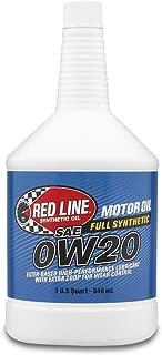 Red Line 11804 0W-20 Motor Oil - 1 Quart Bottle