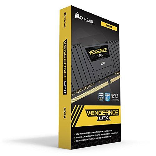 『CORSAIR DDR4 デスクトップPC用 メモリモジュール VENGEANCE LPX Series 4GB×2枚キット CMK8GX4M2A2666C16』の3枚目の画像