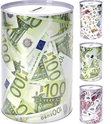 VANI Spardose Metallspardose Eurospardose Geldspardose Sparschwein Jumbo XXL (KI -- 3X)