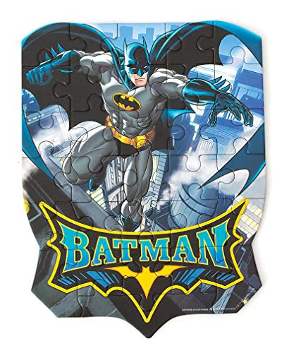 Playhouse DC Comics Batman 31-Piece Die-Cut Shaped Mini Puzzle for Kids