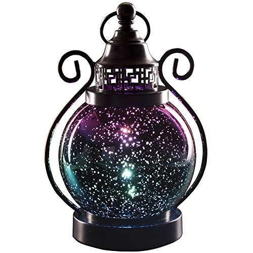 Valery Madelyn Color Changing Decorative Hanging Lanterns with 2 Timer Modes, Mercury Glass Sphere Globe Light for Indoor and Outdoor Decorations, Battery Operated
